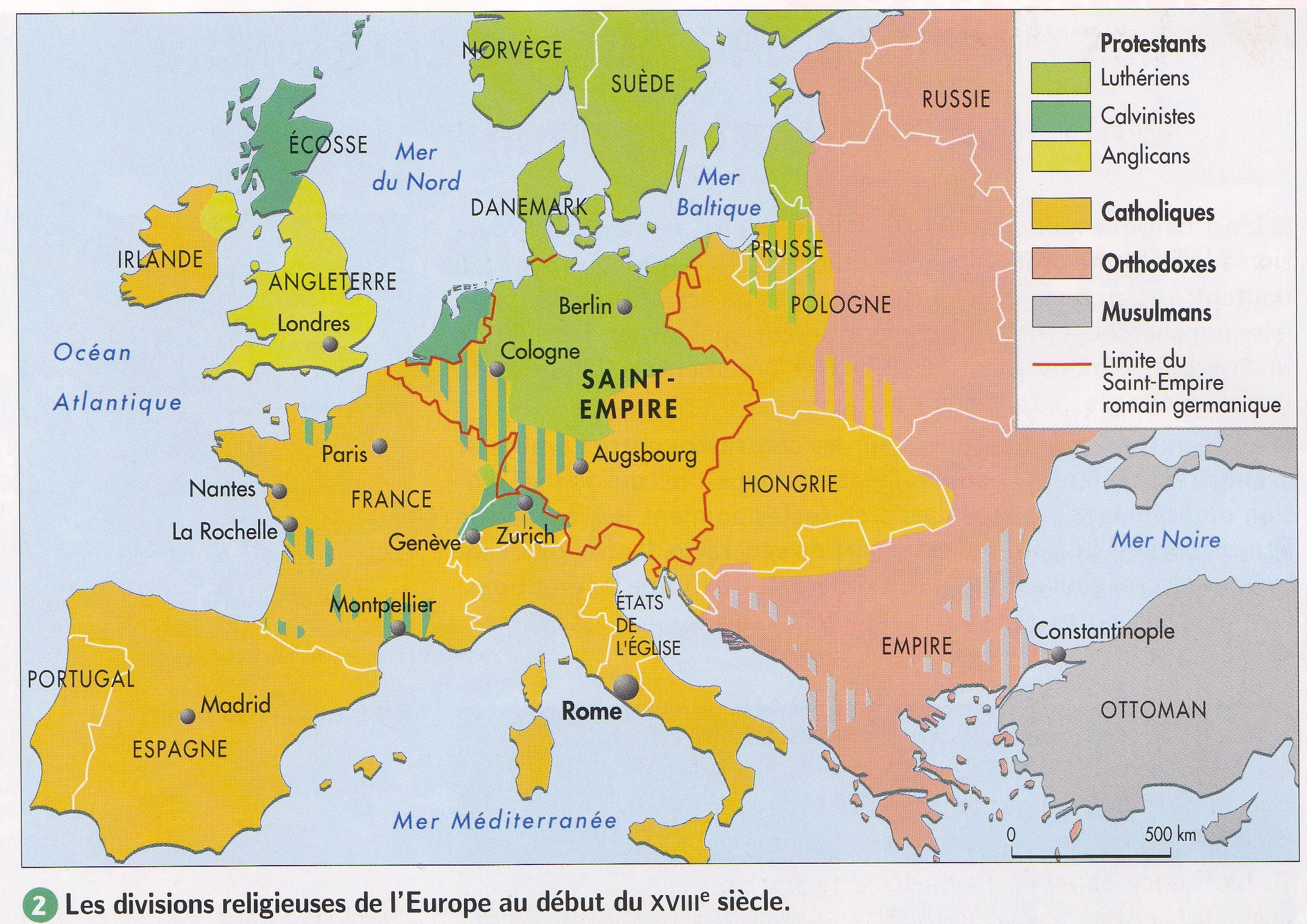 carte europe xiiieme siecle